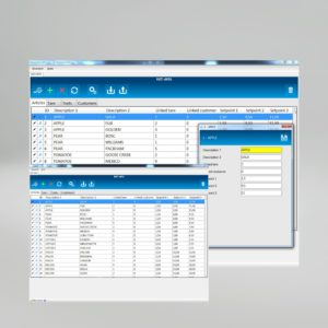 Weighing and labeling software